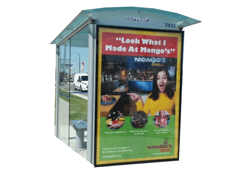Mongos Grill Bus Shelter